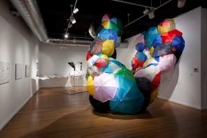 "Stephanie Imbeau ""Rain Cloud (Wall Cloud, Baltimore)"" (Installation view)"